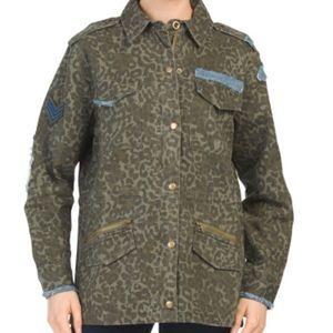Vintage Havana camo anorak jacket NWT